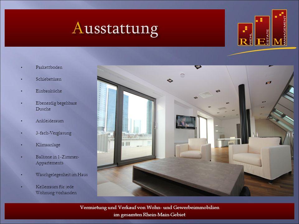 www.riehlestate.de Vermietung und Verkauf von Wohn- und Gewerbeimmobilien im gesamten Rhein-Main-Gebiet.