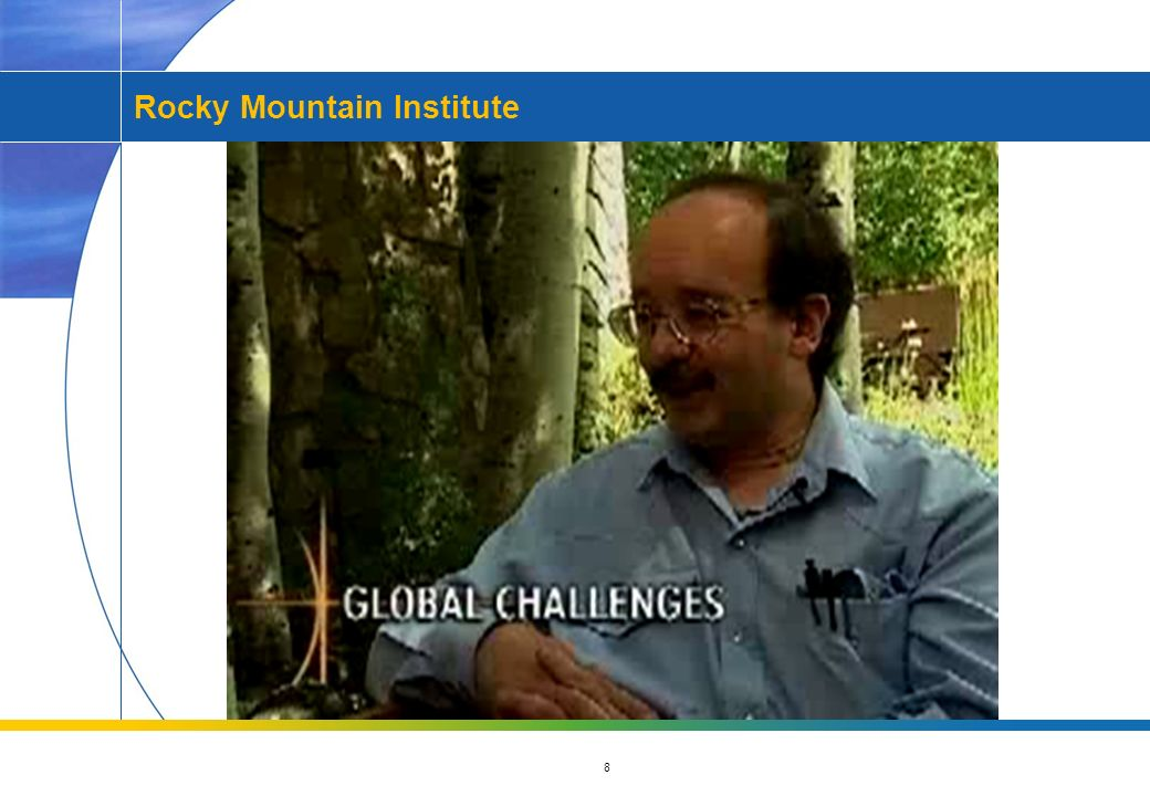 8 Rocky Mountain Institute