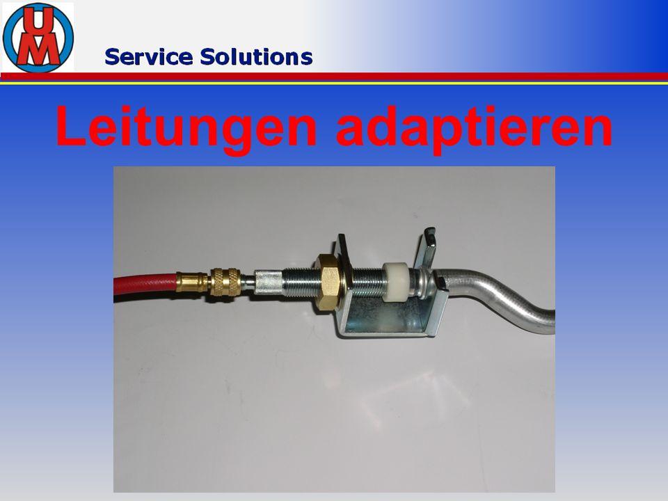 Leitungen adaptieren