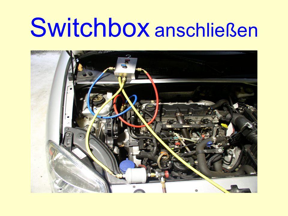 Switchbox anschließen