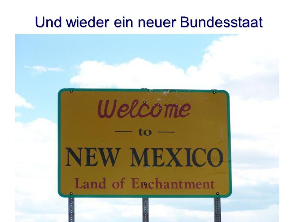 Und wieder ein neuer Bundesstaat