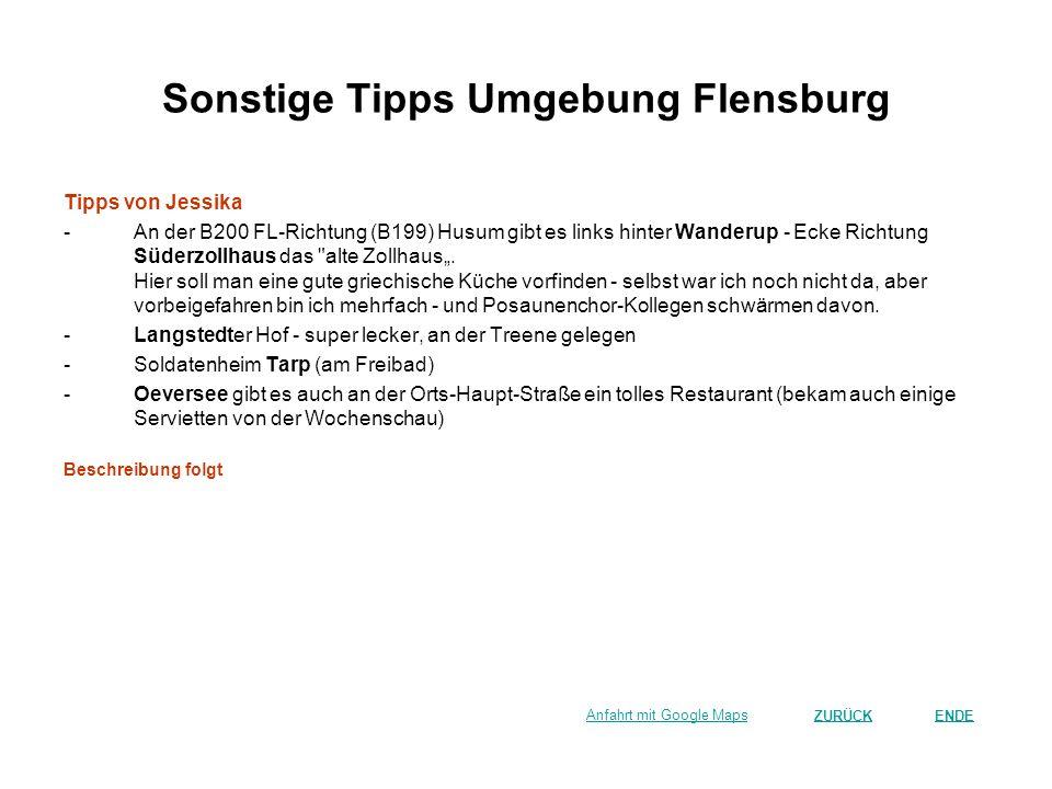 Sonstige Tipps Umgebung Flensburg Tipps von Jessika -An der B200 FL-Richtung (B199) Husum gibt es links hinter Wanderup - Ecke Richtung Süderzollhaus