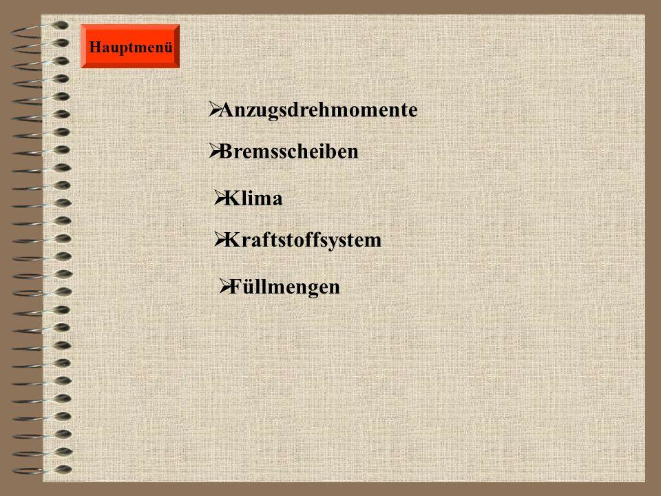 Hauptmenü Vorderradaufhängung(A.u.E.) 2,50 Stunden Vorderradaufhängung (Z.u.I.) 4,35 Stunden Querträger(A.u.E.) 1,70 Stunden Federbein komplett (A.u.E