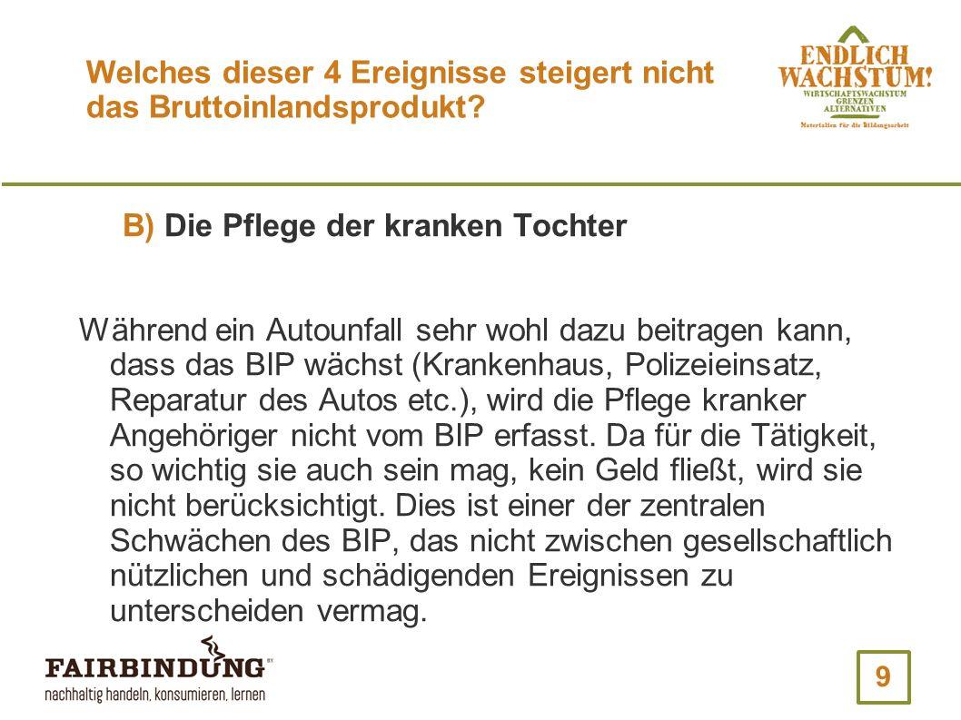 40 Wie hoch ist der monetäre Wert unbezahlter Arbeit in Deutschland.