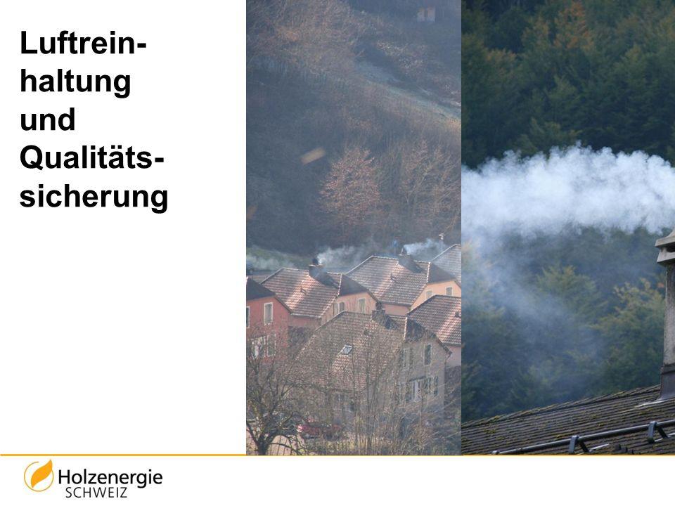 Luftrein- haltung und Qualitäts- sicherung
