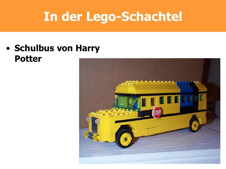In der Lego-Schachtel Schulbus von Harry Potter