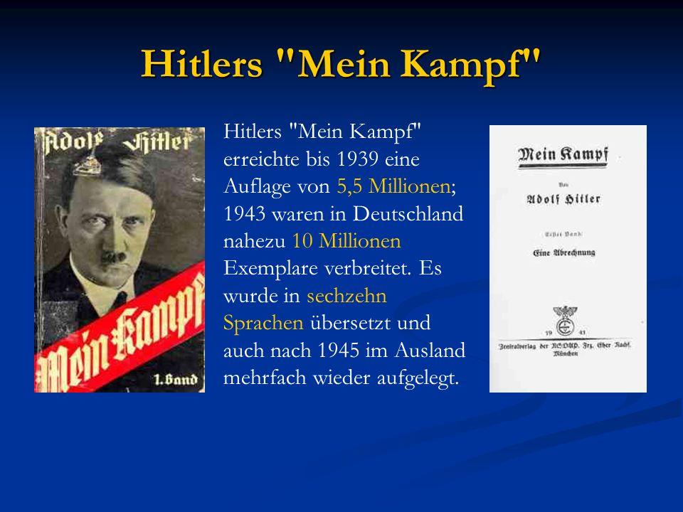 Der politische Aufstieg Hitlers Jahr 1919 : Hitler hält seine erste politische Rede vor Mitgliedern der DAP. Jahr 1919 : Hitler hält seine erste polit