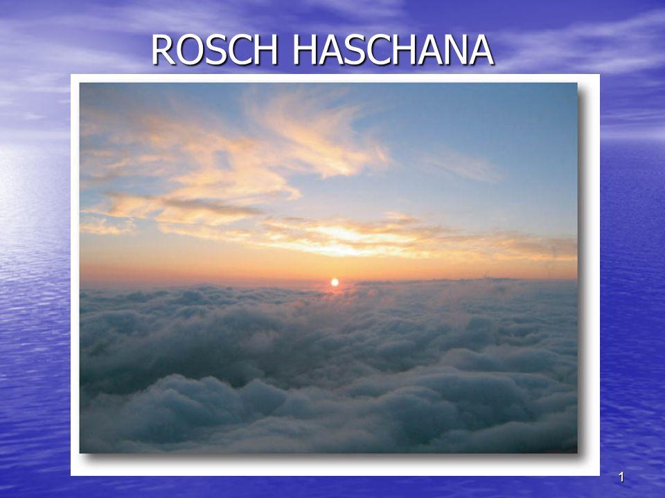 1 ROSCH HASCHANA