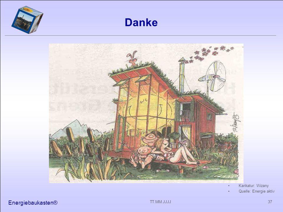 Energiebaukasten® 37TT.MM.JJJJ Danke Karikatur: Wizany Quelle: Energie aktiv