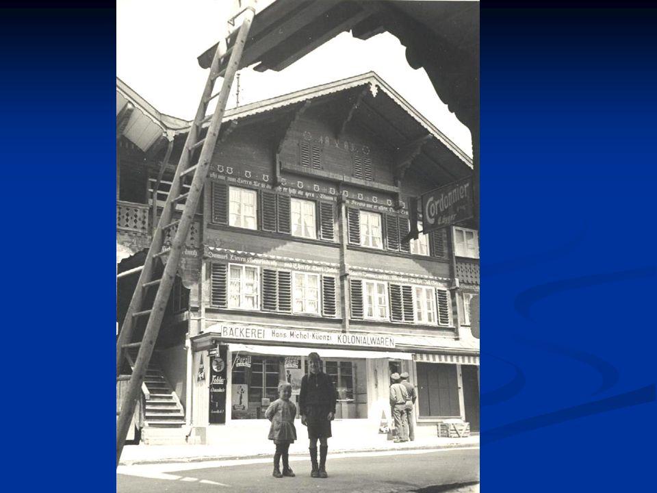 Geschichte Im Jahr 1940 mietet Anna und Hans Michel die Bäckerei von Samuel Pieren.