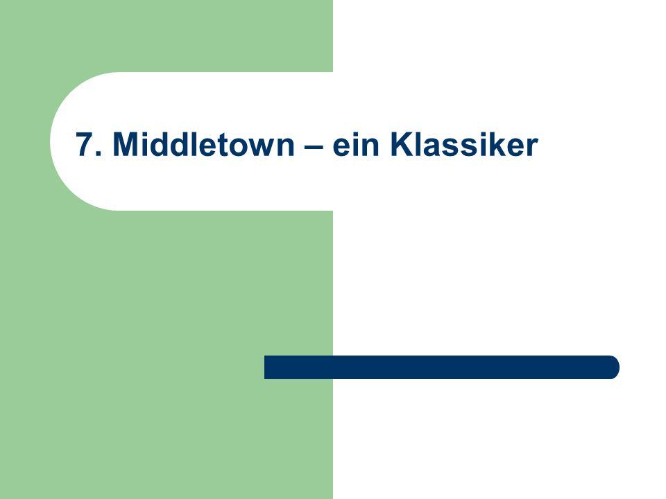 7. Middletown – ein Klassiker