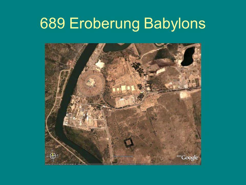 Ägypten 595-571 Psammetich II. (595-589) 591 Nubienfeldzug Apries/Hofra (589-571)