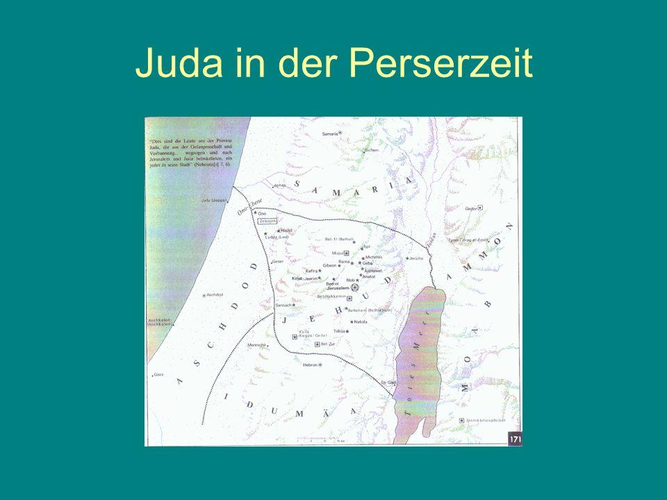 Juda in der Perserzeit