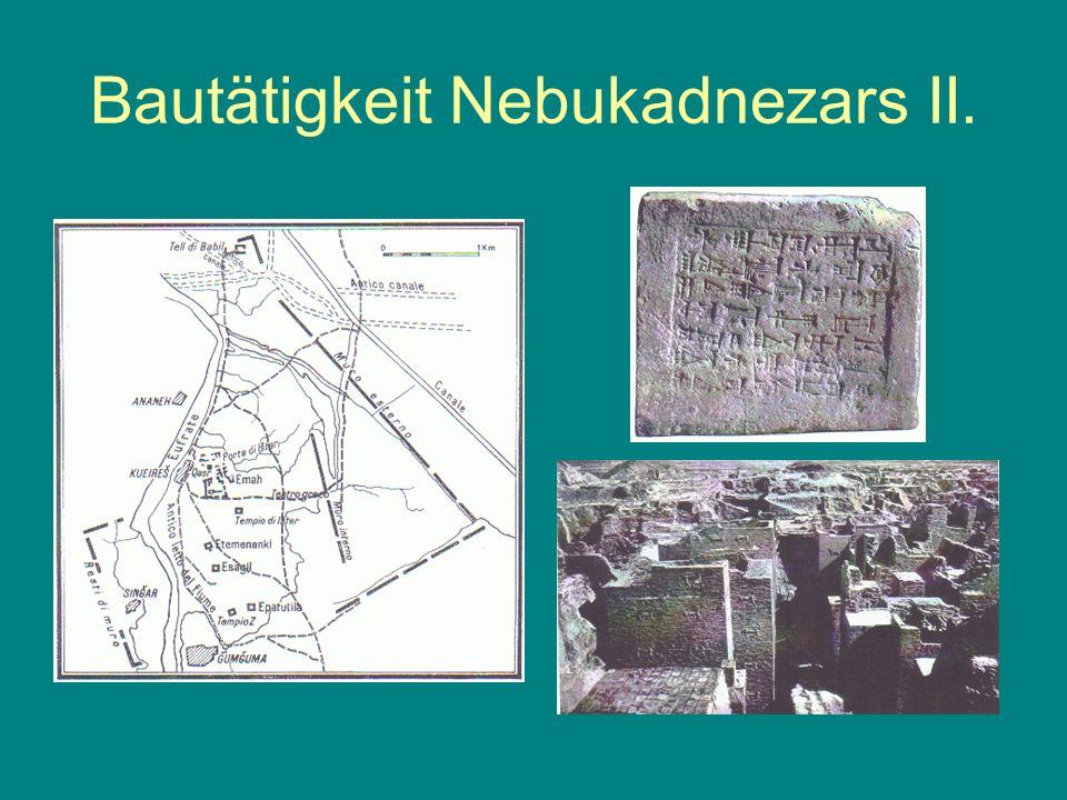 Juda unter babylonischer Oberherrschaft Trostlosigkeit Ca.