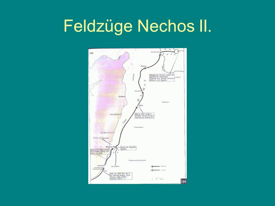 Eroberung Jerusalems 2 Kön 25,8 Und im fünften Monat, am Siebten des Monats, das war das neunzehnte Jahr des Königs Nebukadnezar, des Königs von Babel, kam Nebusaradan, der Oberste der Leibwache, der Knecht des Königs von Babel, nach Jerusalem.