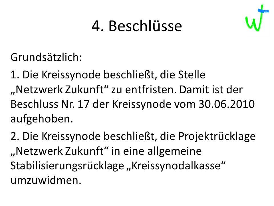 4. Beschlüsse 2013 2012 2015 217 Grundsätzlich: 1.