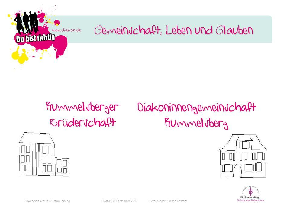 Diakonenschule Rummelsberg Stand: 20.
