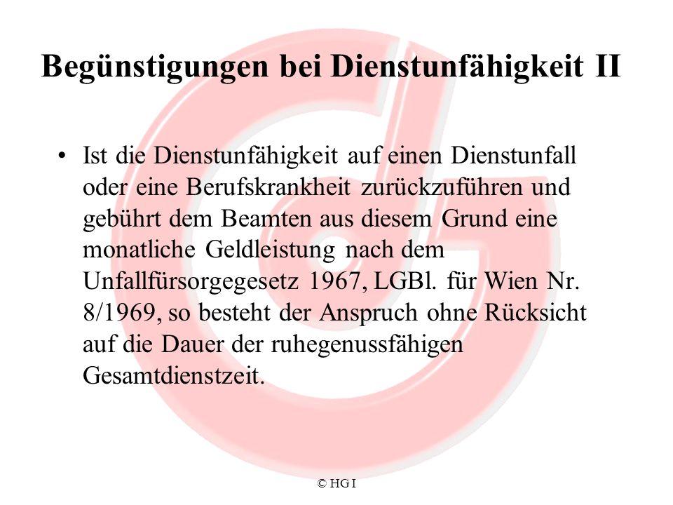 © HG I Ruhe- und Versorgungsgenusszulagegesetz I Nach Vollendung des 18.