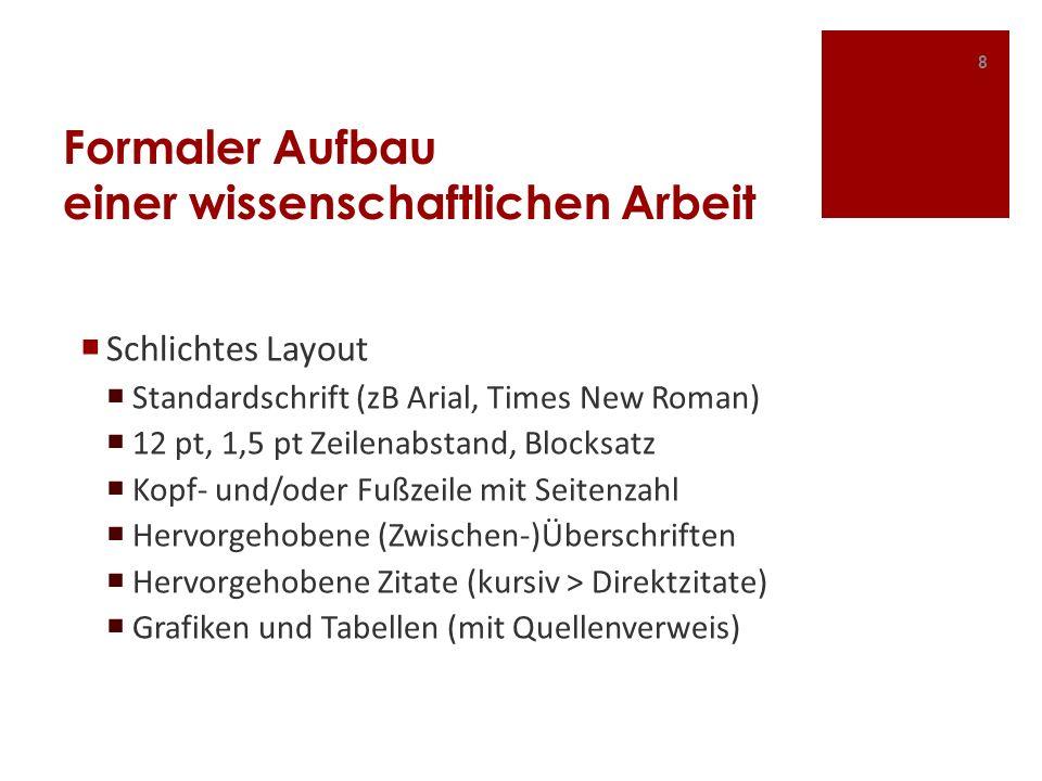 Bibliographie II Beitrag aus einem Sammelwerk Nachname, Vorname (Jahr): Titel.