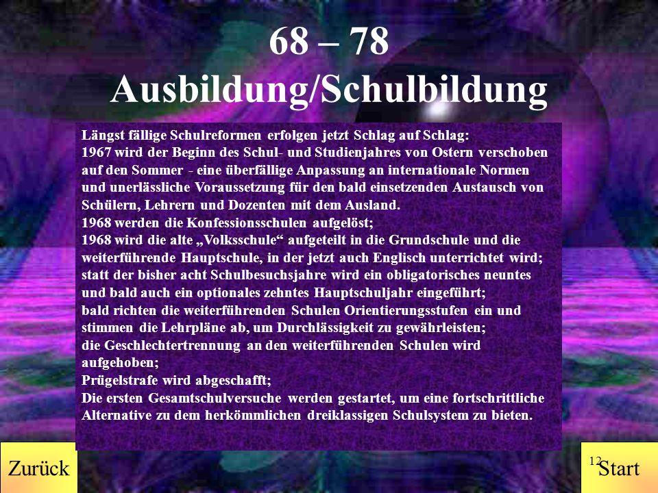 StartZurück 11 68 – 78 Drogen Um das Vordingen in angeblich tiefere Bewusstseinssphären zu erleichtern, kreisen in den 70ern Haschpfeifen.