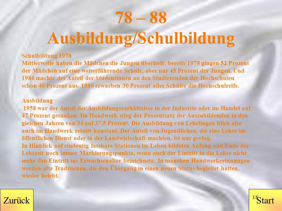 StartZurück 17 78 – 88 Drogen Mit dem Gesetz zur Neuordnung des Betäubungsmittelrechts, das am 1.