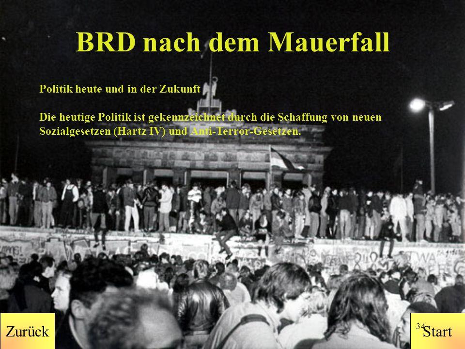 StartZurück 33 BRD vor dem Mauerfall Das Bundesdatenschutzgesetz tritt in Kraft.