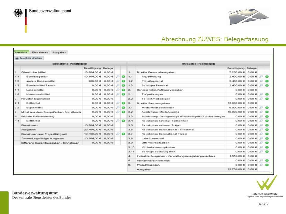 Seite: 28 Teilnehmendenverwaltung : Jahresberichte