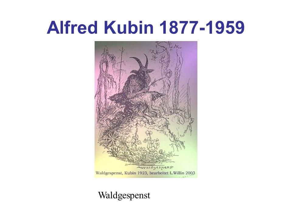 Alfred Kubin 1877-1959 Waldgespenst