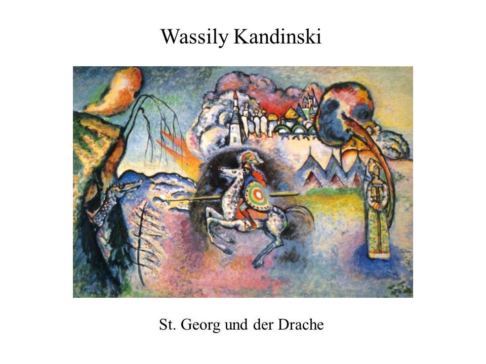 St. Georg und der Drache Wassily Kandinski
