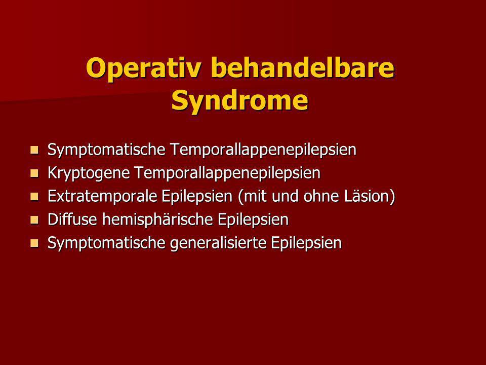 Postoperative Anfallskontrolle Metaanalyse nach Engel et al (1993)