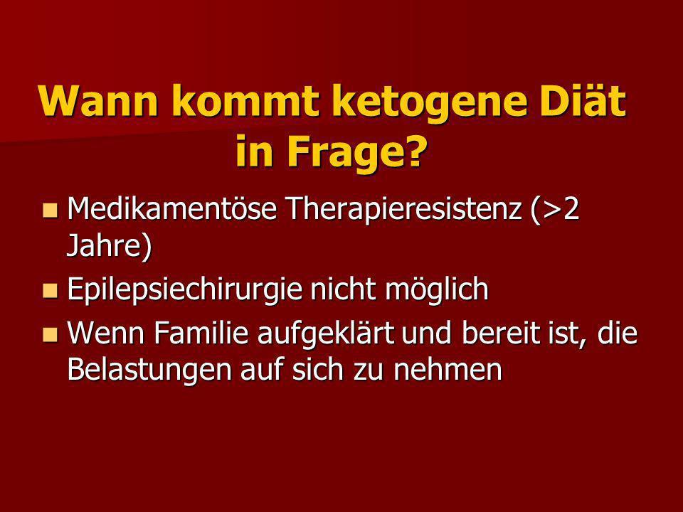 Regime der ketogenen Diät Max.3 Tage stationär fasten Max.