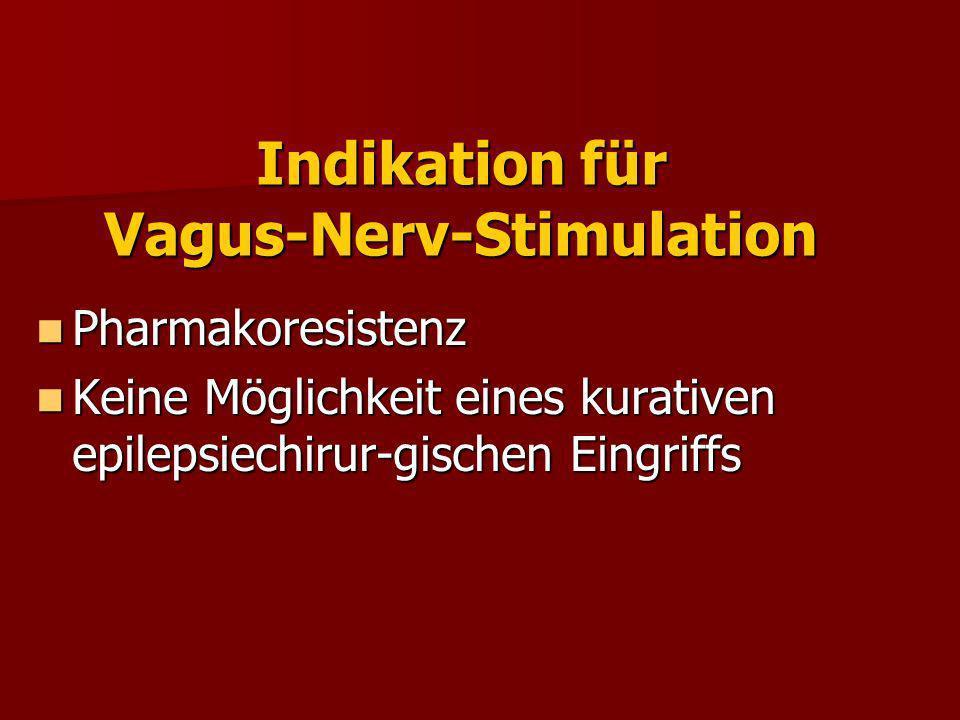 Effekt der VNS bei Kindern (n=83) Ravish et al, Neurosurgery, (2000)