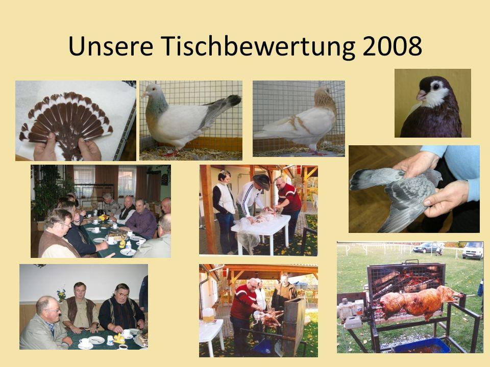Unsere Tischbewertung 2008