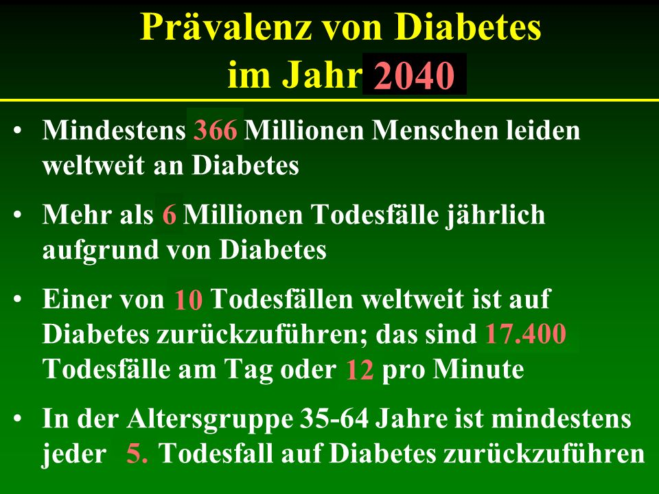 Aufbau des Referates Was ist der Diabetes Mellitus.