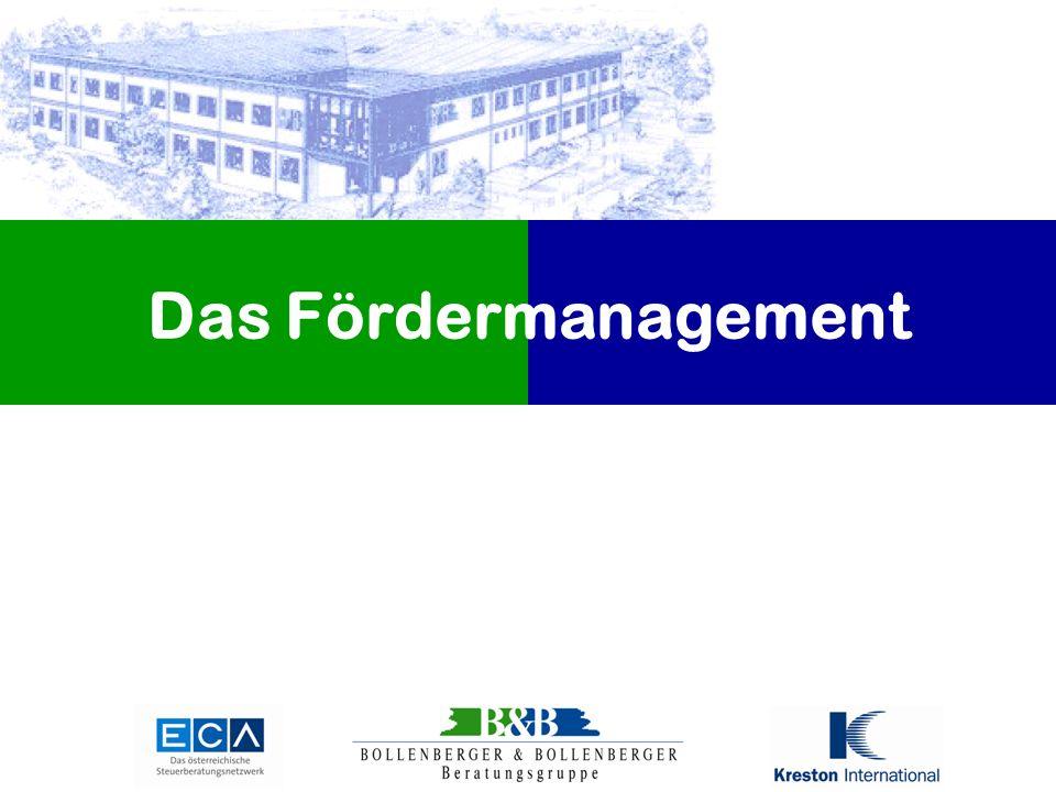 Das Fördermanagement
