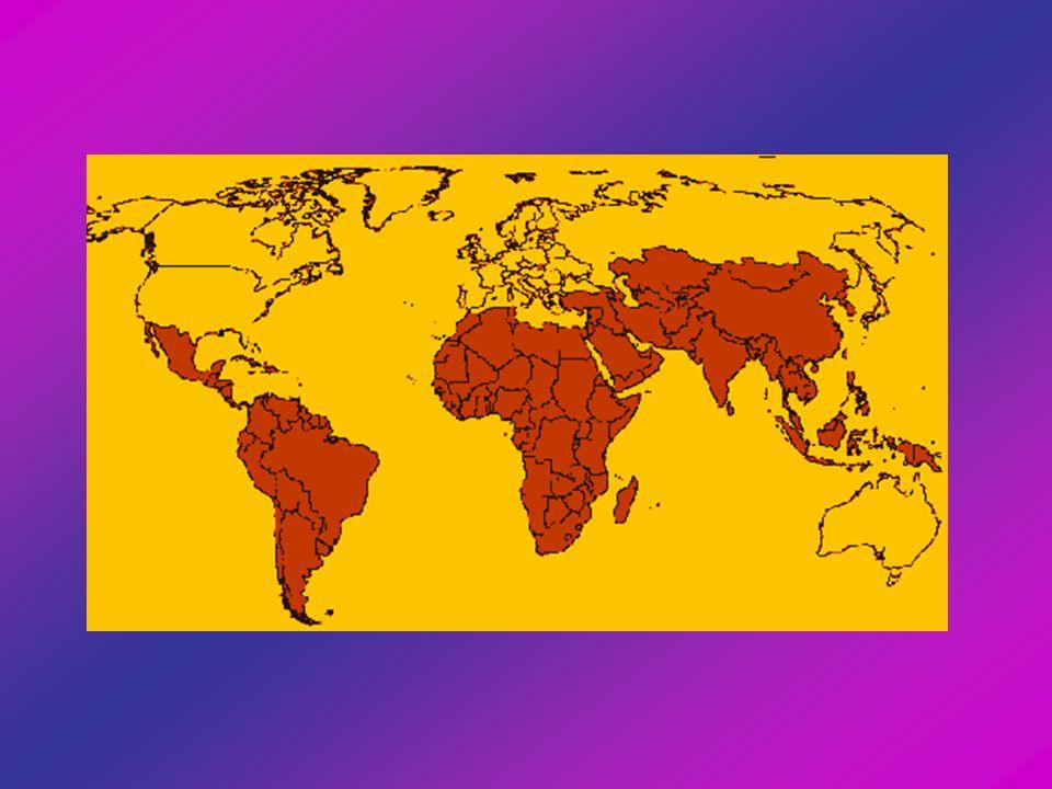 Begriffsdefinition Erste Welt: westliche Industrieländer Zweite Welt: kommunistische Länder mit zentraler Planwirtschaft Dritte Welt: rohstoffreiche Entwicklungsländer mit beginnender Industrialisierung Vierte Welt: rohstoffarme Entwicklungsländer mit geringer Industrialisierung, aber Ansätze einer wirtschaftlichen Aufwärtsentwicklung Fünfte Welt: Entwicklungsländer auf besonders niedriger Entwicklungsstufe und mit besonders ungünstigen Voraussetzungen