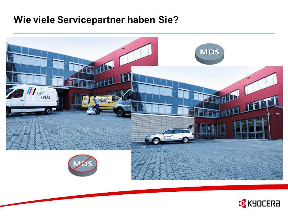 14 Wie viele Servicepartner haben Sie?
