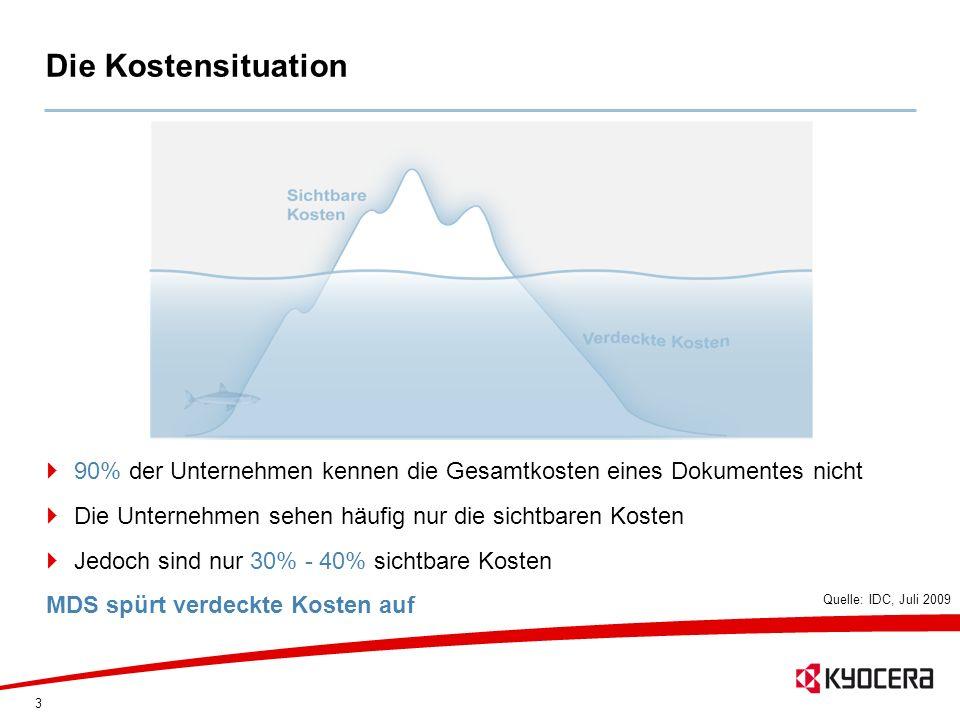 44 Baustein SOLUTION CONSULTING Kostenkontrolle & Kostentransparenz Prozessoptimierung im Dokumentenmanagement Verbesserte Sicherheit im Output-Management