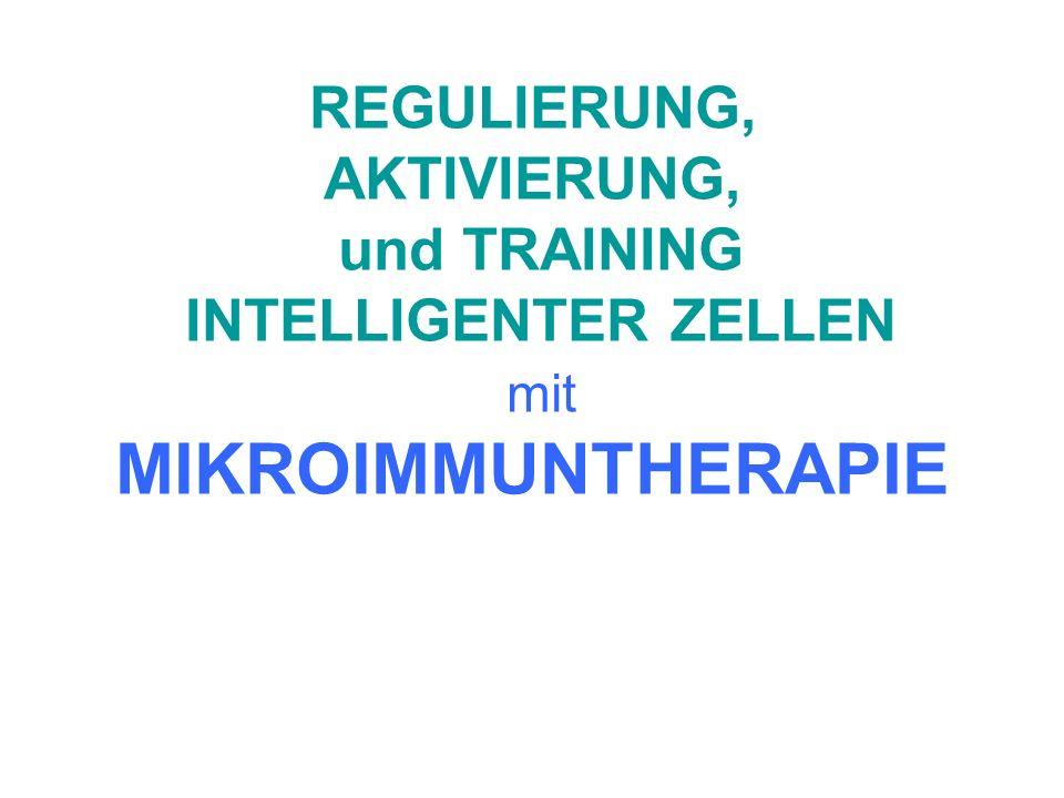 MIKROIMMUNTHERAPIE UND EBV Die Behandlung (der mit EBV verbundenen Pathologien) vom ZUSTAND DES IMMUNSYSTEMS des Patienten ab, welcher mit Hilfe einer Lymphozytentypisierung untersucht und bestimmt wird.
