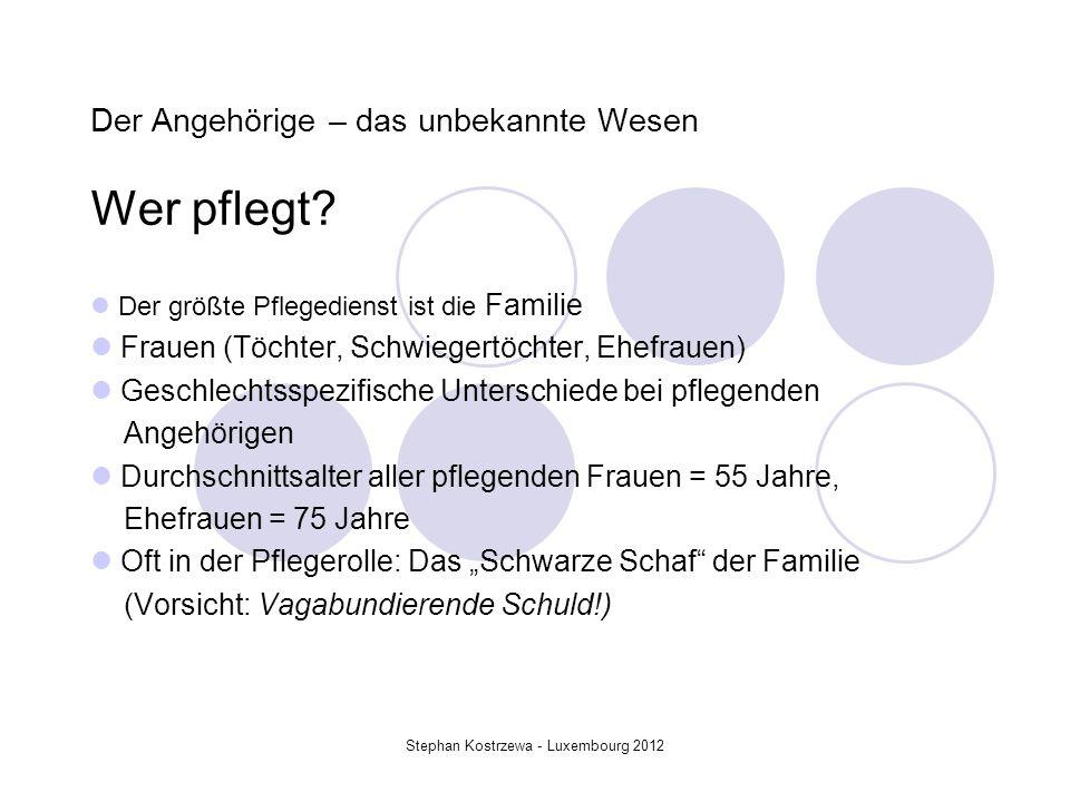 Bedürfnisse der Angehörigen (A.Heller/ S.