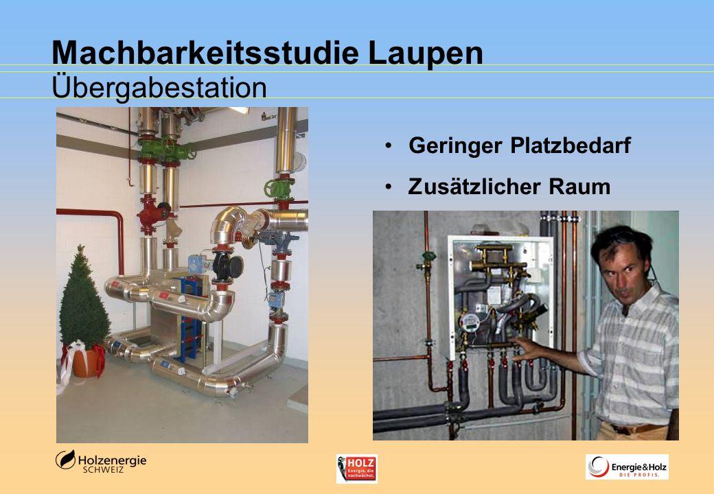 Machbarkeitsstudie Laupen Übergabestation Geringer Platzbedarf Zusätzlicher Raum