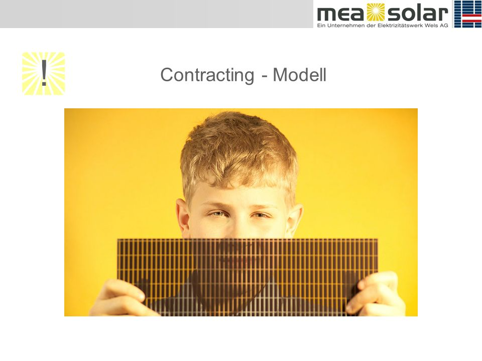 Contracting - Modell !
