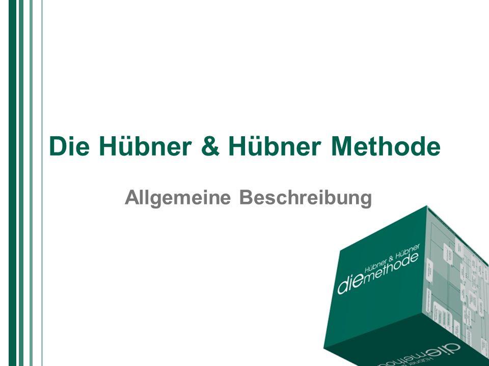 Die Hübner & Hübner Methode 42 Summe der Ergebnisse Zum Modell 19 Zurück Worum geht es.