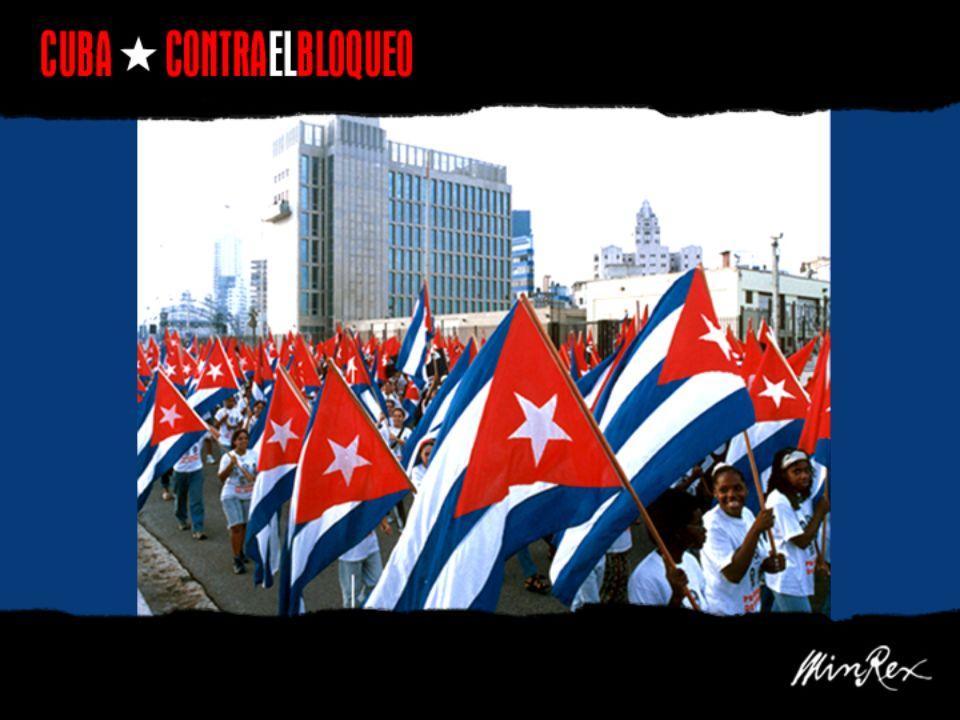 Die ökonomische, finanzielle und kommerzielle Blockade -bisher von zehn US- Administrationen gegen Kuba angewandt und verschärft- umfasst heute ein ganzes Netzwerk von Gesetzen und Reglementierungen und ist Teil eines politischen Feldzuges von Feindseligkeit und Aggressionen gegen die Existenz der kubanischen Nation.