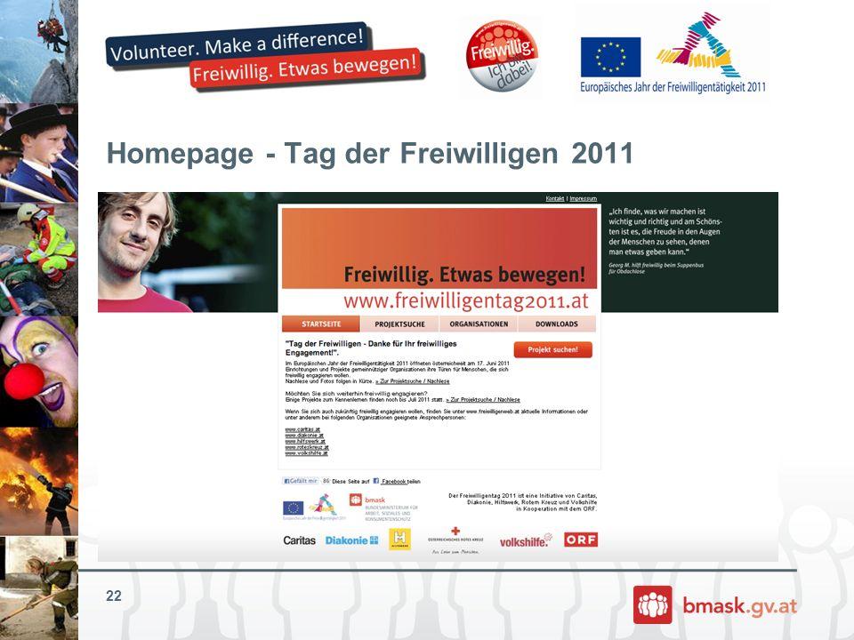 Homepage - Tag der Freiwilligen 2011 22
