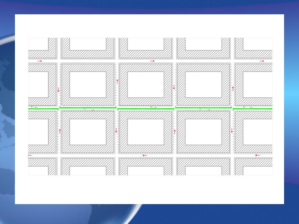 Lösungen bezüglich der Infrastruktur Einrichtungen: sauberes Gelände für aktiven Transport Aktive Straβen: 1)Serpentine: Induktionsspule in der Straβe