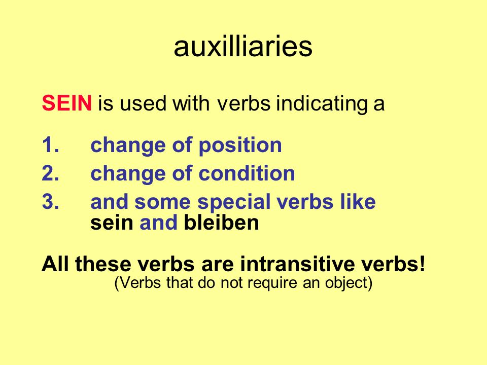 There are some small irregularities in forming the past participle in German: 1.verbs ending in - ieren studierenstudiert gratulierengratuliert 2.