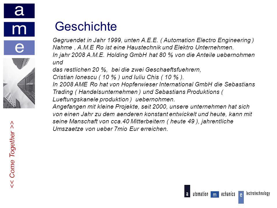 Geschichte > Gegruendet in Jahr 1999, unten A.E.E.