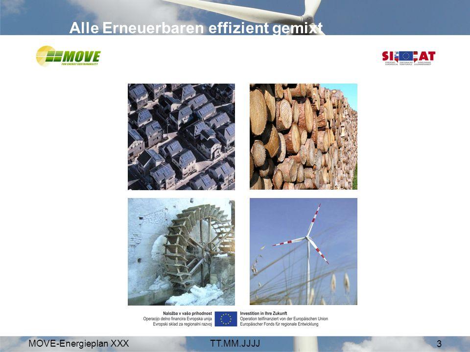 MOVE-Energieplan XXXTT.MM.JJJJ 3 Alle Erneuerbaren effizient gemixt