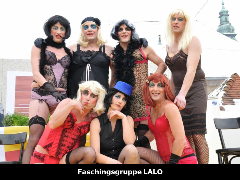 Hotline zum Ortstarif: 0810 001 092 www.vereine-noe.at Faschingsgruppe LALO